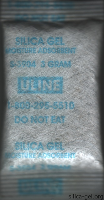 Uline Silica Gel Packet