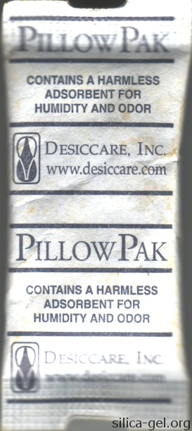 Medium Desiccare PillowPak