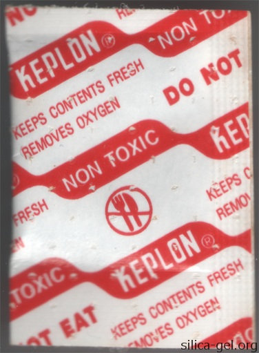 Keplon-DRT Packet printed in red.